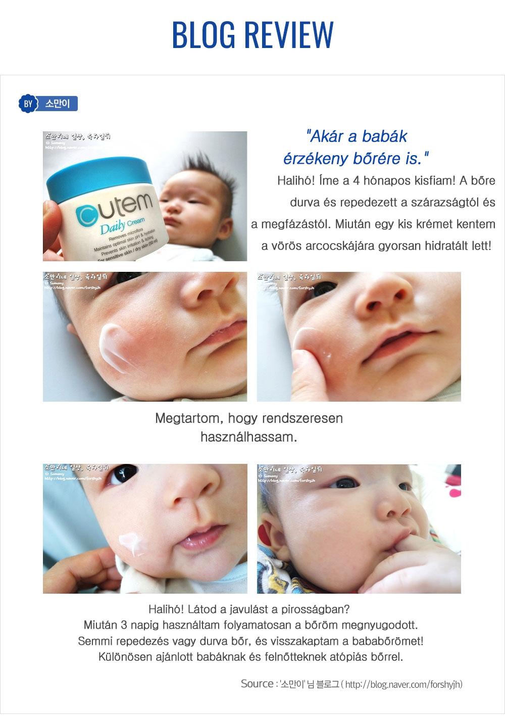 Skinmed Cutem krém problémás bőrre szteroidos krém helyett kisbabáknak és atopiás ekcémás bőrre