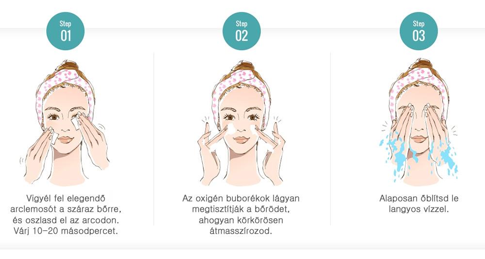 Skinmed Paeon buborékos mélytisztító arclemosó érzékeny bőrre koreai bőrápolás